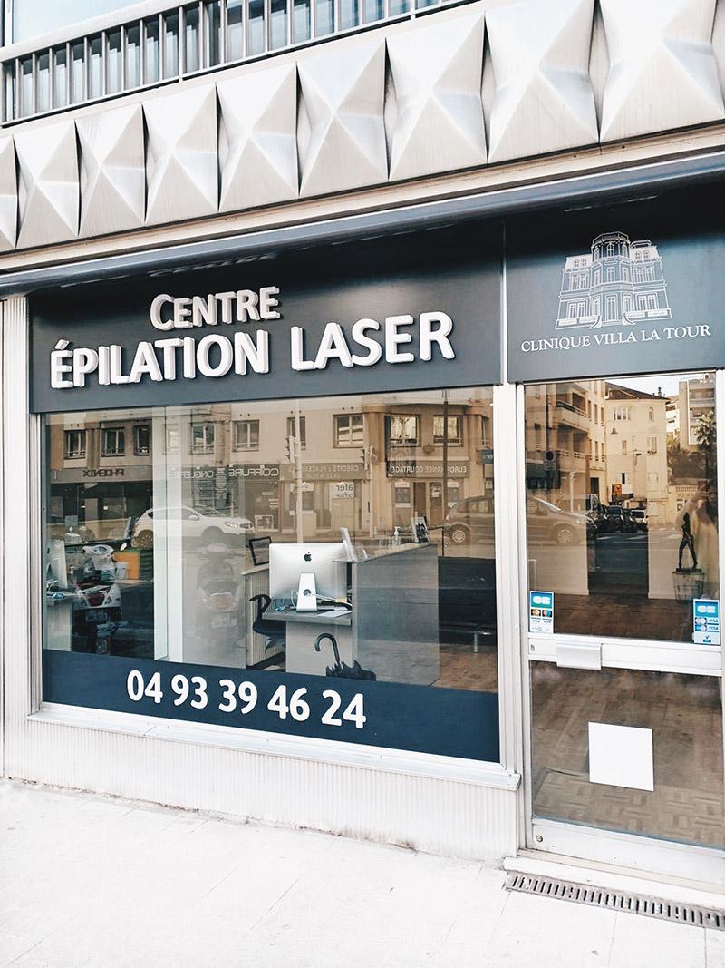 Centre épilation laser Cannes